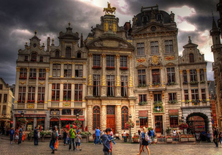 Guildhall in Grand Place, Brussels