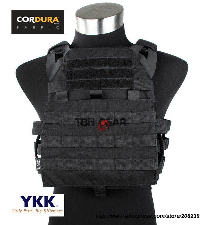 TMC Gen2 Jim Plate Carrier Cordura Tactical Plate Carrier Vest Military Vest