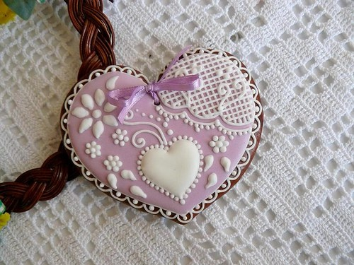 Beautiful Lace Cookie
