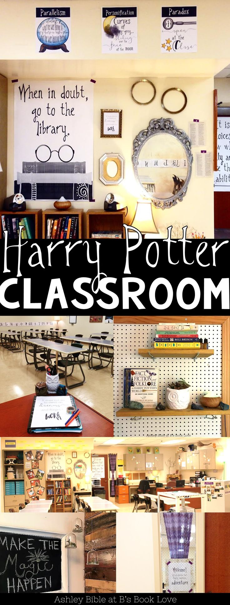 Harry Potter Classroom Inspiration, Harry Potter posters, Harry Potter decorations