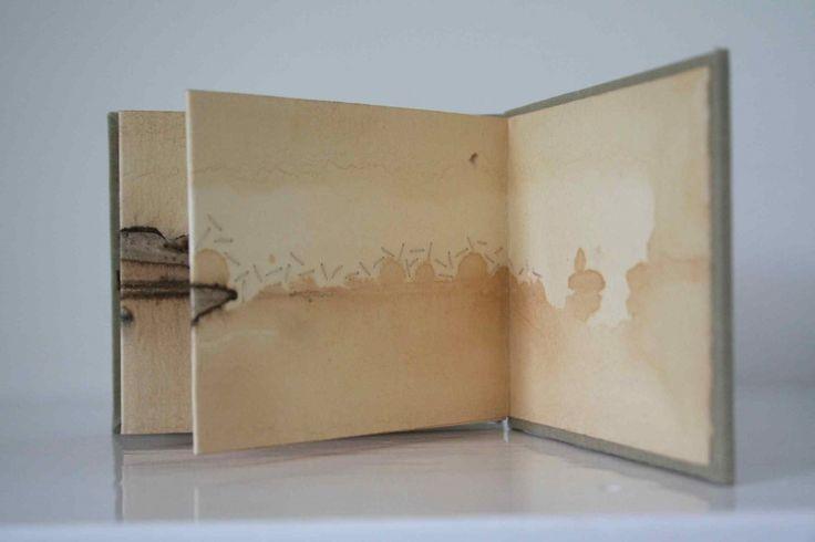 Alice Fox concertina | Tide Mark Book #22 detail