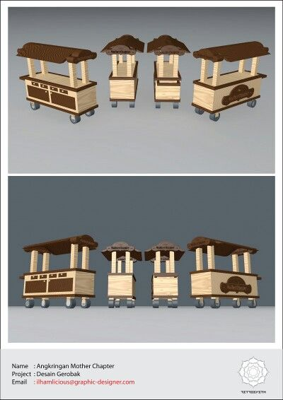 Gerobak design by Retrosystm