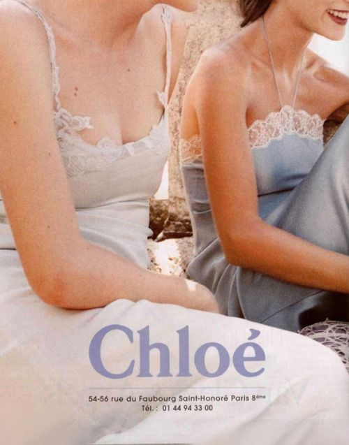 Chloé Spring/Summer 1998  Ph. Perry Ogden