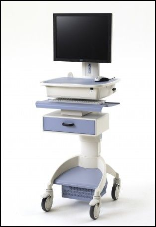 Computer Carts On Wheels Medical