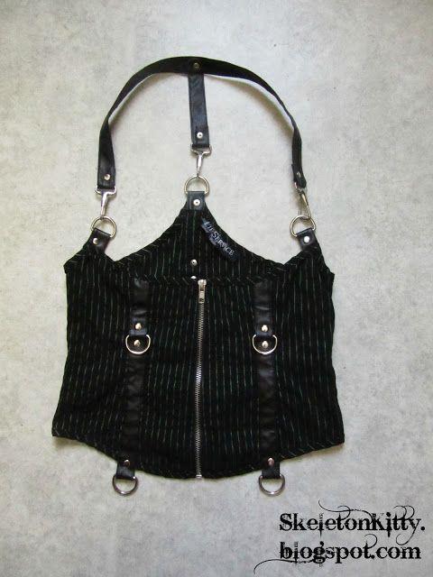 LIP SERVICE Gangsta Pranksta underbust corset top #53-185