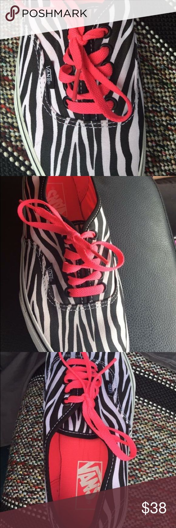 Vans for your closet New tennis shoes...price is firm. Vans Shoes Sneakers