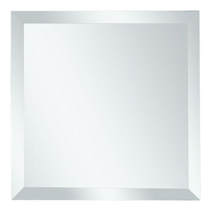 Плитка зеркальная NNLM квадратная с фацетом, 25х15х15 см