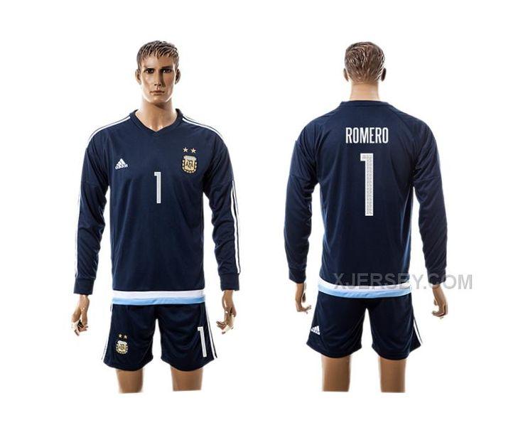 http://www.xjersey.com/argentina-1-romero-away-2016-copa-america-centenario-2016-copa-america-centenario-long-sleeve-soccer-jersey.html ARGENTINA 1 ROMERO AWAY 2016 COPA AMERICA CENTENARIO 2016 COPA AMERICA CENTENARIO LONG SLEEVE SOCCER JERSEY Only 33.11€ , Free Shipping!