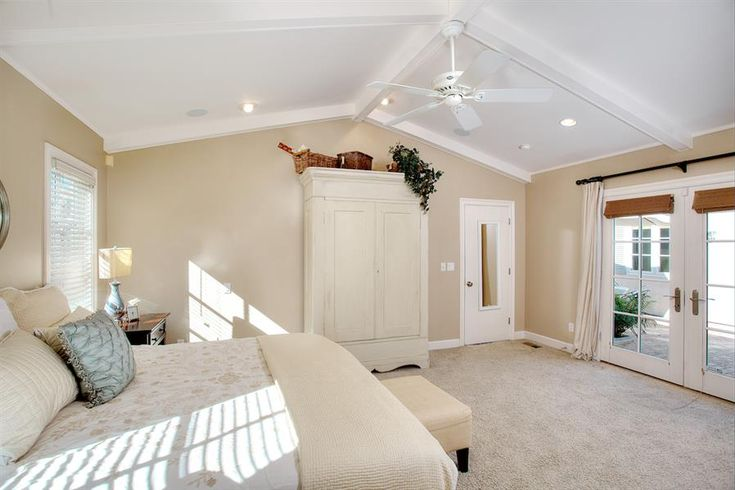 Ceiling Fans with Lights for Cathedral Ceilings with cream ...