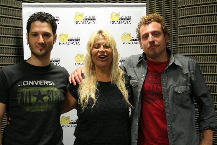 """Acústico y entrevista en Radio Rivadavia. Enero 2014. Con Claudia Fasolo en """"CLAUDIA NO DUERME"""""""