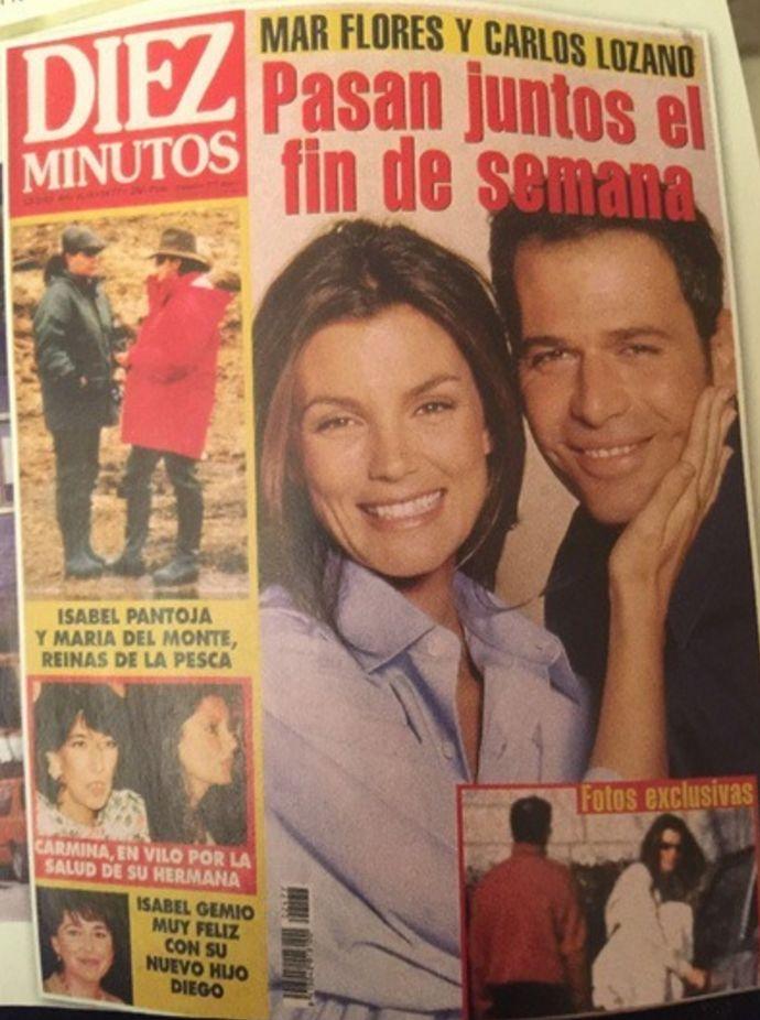 > Carlos lozano tuvo un lio con Mar Flores, excuñada de Kiko Matamoros y tia de Laura Matamoros | EXTRA VIP