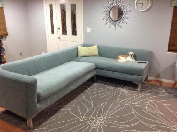 modern sectional sofa do it yourself home projects from ana white this would be perfect