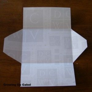 How To Make An Envelope - Growing Up Gabel