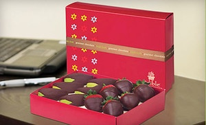 Groupon - $15 for a Box of Chocolate-Dipped Strawberries and Apple at Edible Arrangements ($29 Value). Four Locations Available. in Multiple Locations. Groupon deal price: $15.00