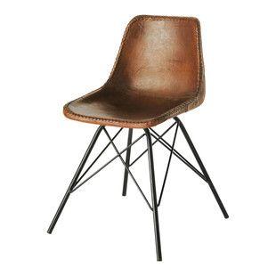 Vintage stoel in bruin ... - Austerlitz, 129 euro, hoogte 80, breedte 50 en diepte 53 euro. Ook mooi!