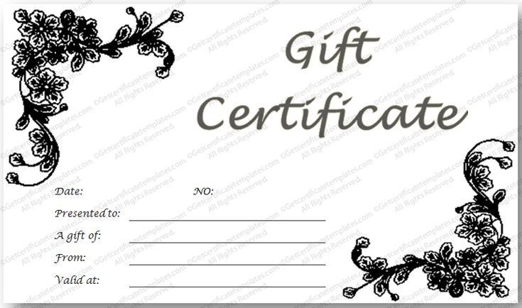 275.0+ best Beautiful Printable Gift Certificate Templates