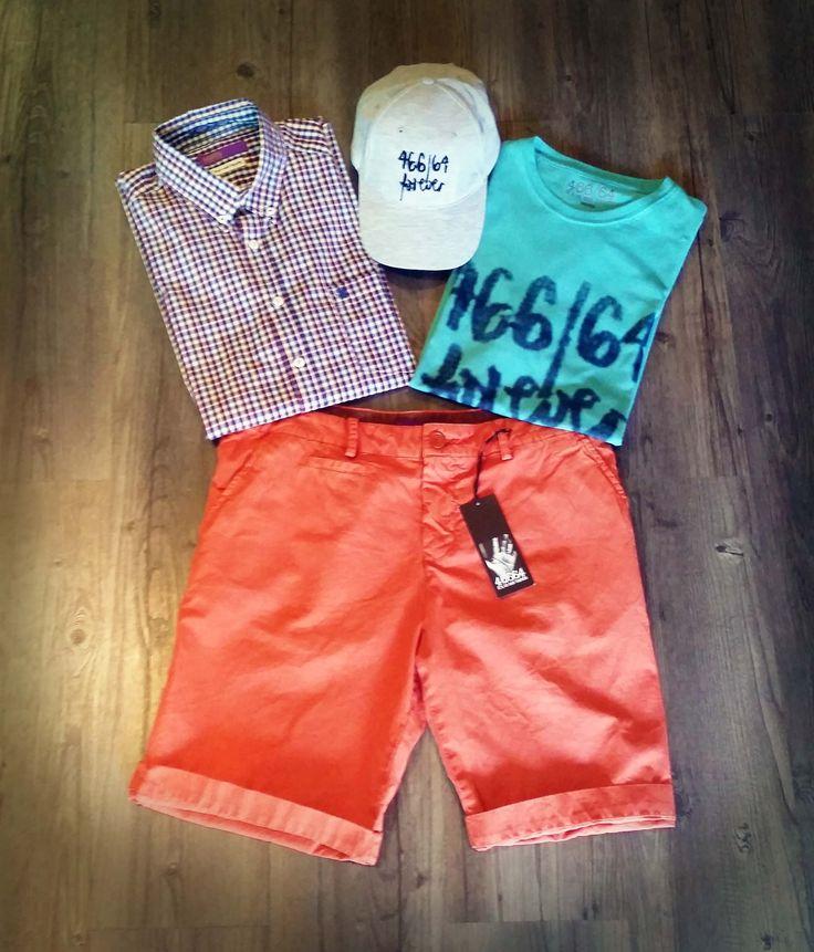 Fashion Friday - Look and feel good with 466/64. #tees #shirts #chinos #mensfashion #summer 2014