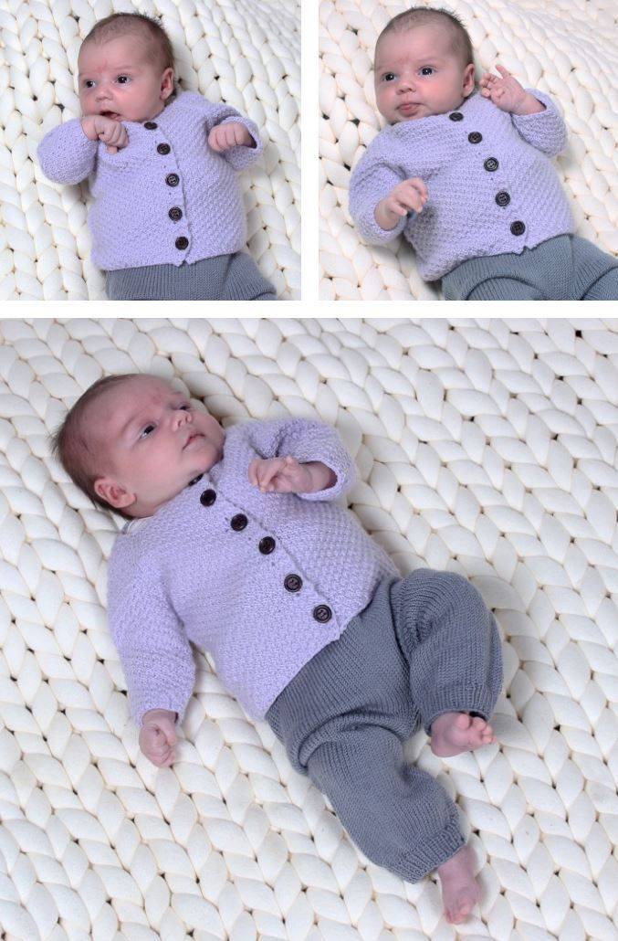 Free easy baby knitting patterns for beginners | Baby | Easy