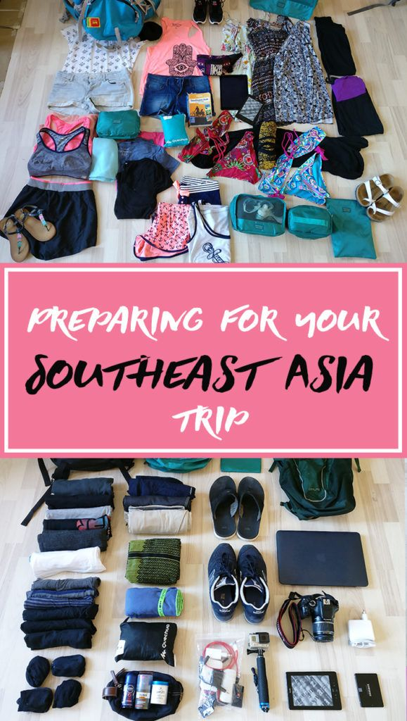 Preparing for your Southeast Asia trip