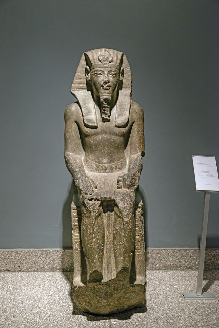 ANCIENT EGYPT — awesomepharoah:   Statue of Amenhotep III, ca....
