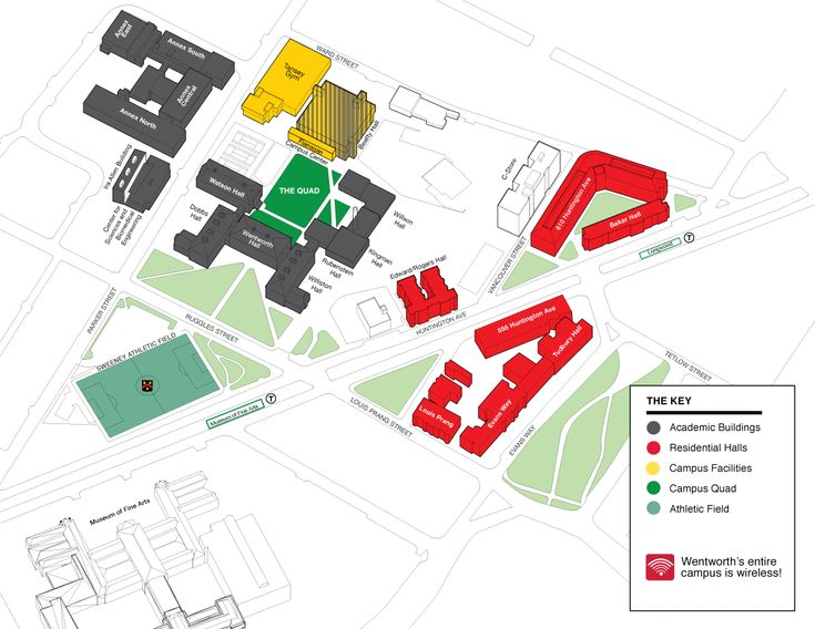 Campus Map : Wentworth Institute of Technology