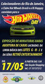 Minicarsbr: Exposição Hot Wheels no Shopping São Gonçalo-RJ