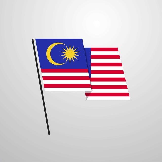 Gambar Malaysia Melambai Bendera Bentuk Vektor Latar Belakang Ikon Bendera Ikon Latar Belakang Ikon Malaysia Png Dan Vektor Untuk Muat Turun Percuma Vector Background Flag Design Waving Flag