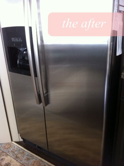 How to naturally clean stainless steel & keep it shiny!! SO easy!!!Steel Fridge, Cleaning Stainless Steel, Dry Clothing, Baby Oil, Olive Oils, Steel Nature, Steel Cleaners, Nature Cleaning, Steel Appliances