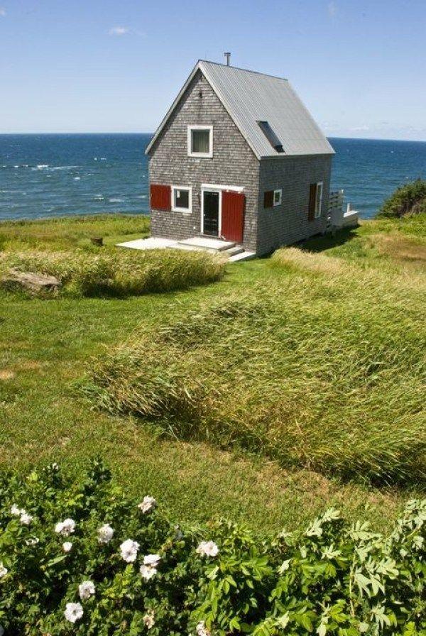 860 sq ft oceanside cottage in cape breton island tiny house rh pinterest it