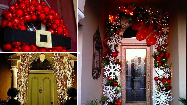 On oublie parfois que la décoration de la porte d'une maison pendant les fêtes de Noël est presque aussi importante que tout le reste. Elle prépare les convives à entrer dans l'ambiance de fête de fin d'année… et quelle ambiance ! Alors, pour que votre porte d'entrée soit la plus belle cette année, inspirez-vous de...