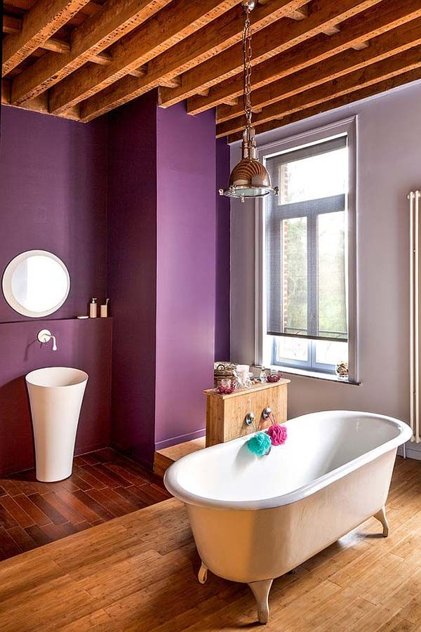 35 best purple bathroom ideas bathroom ideas bathroom purple rh pinterest com