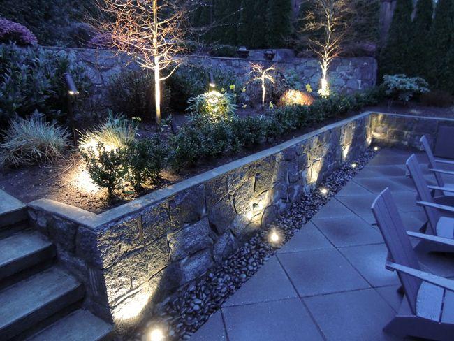 B-K Lighting   Architectural Outdoor Landscape Lighting - Best Shot  West Vancouver  & 318 best ????(??) images on Pinterest   Landscape lighting ... azcodes.com