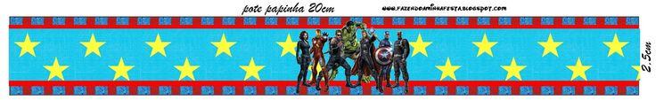 Imprimibles de los Vengadores 5.   Ideas y material gratis para fiestas y celebraciones Oh My Fiesta!