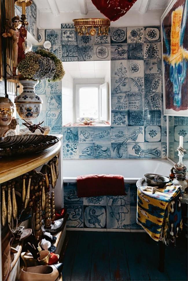 house tour italian interior designer olimpia orsini s eclectic home rh pinterest com