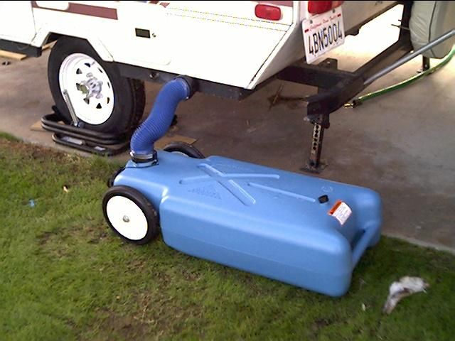 wheeled tote for our starcraft because we had lifted the suspension rh pinterest com
