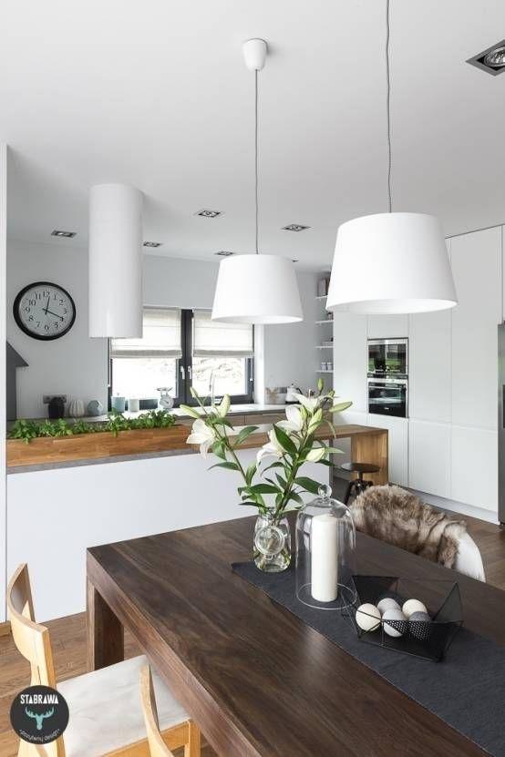 Cocinas escandinavas de stabrawa.pl https://www.homify.com.mx/libros_de_ideas/55253/10-cocinas-modernas-blancas-y-resplandecientes
