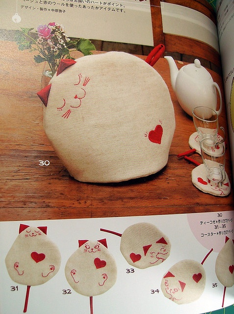 Japanese Cat Craft Book by Tacky Tiffany