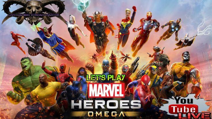 NEW GAME START PART 1 | MARVEL HEROES OMEGA | PS4 LIVESTREAM