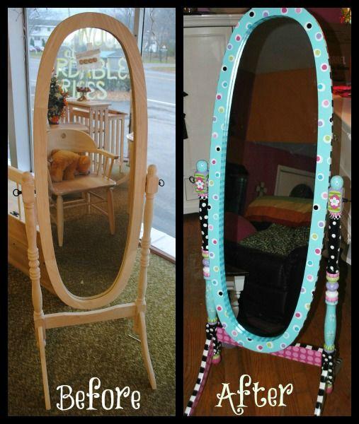 Mirror | DIY/Crafts | Pinterest | Paint furniture ...
