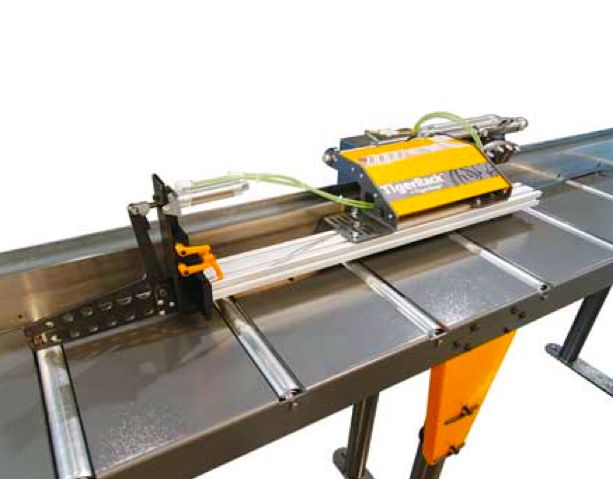 #TigerRack by #TigerStop. For your heaviest materials. #BuiltMetalTough #metalworking #automation #manufacturedintheUSA #iwf #iwf14