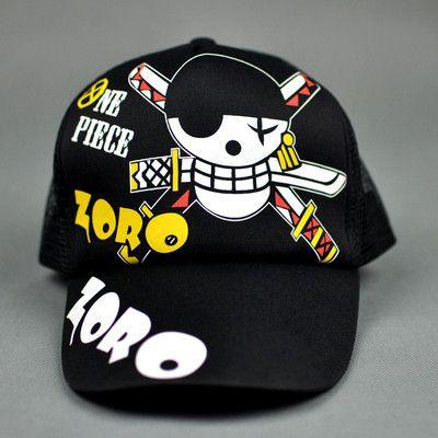 $29.99 + FREE SHIPPING! One Piece Zoro Snapback Baseball Anime Hat - OtakuForest.com