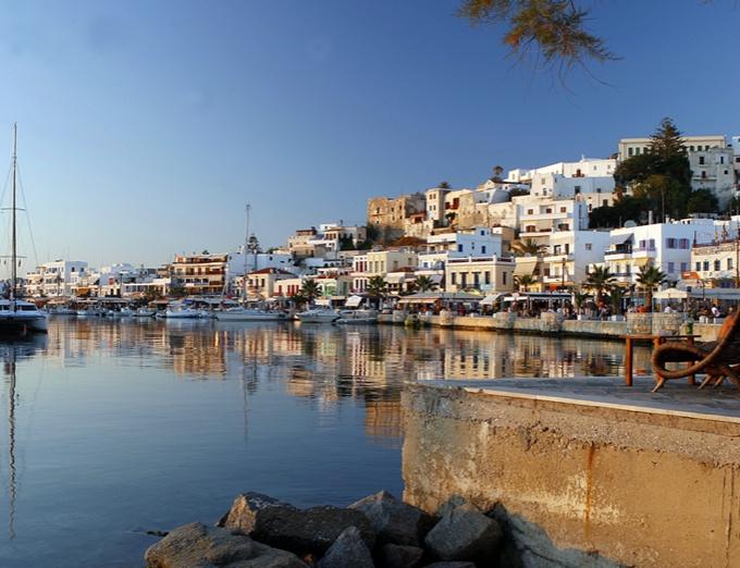 Porto Naxos Hotel next to Naxos Town