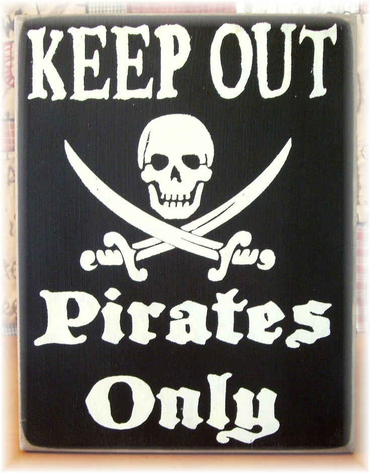 Keep Out Sign--Pattisprimitives on etsy