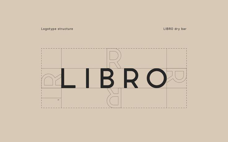 LIBRO Dry Bar Branding by Stanislav https://mindsparklemag.com/design/libro-dry-bar-branding/