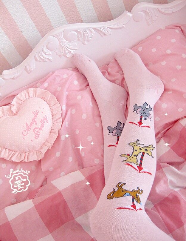 Carousel themed stockings ♤  #lolita #egl #eglcommunity #eglfinland #sweetlolita #stockings #circus #carnival #AngelicPretty