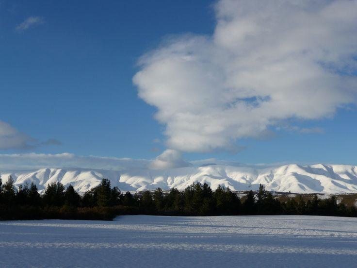 """Volcano"" St Bathan's Range Central Otago"