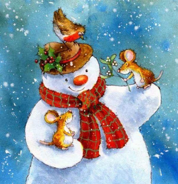 Художник Jan Pashley. Новогоднее настроение. Сказочные иллюстрации
