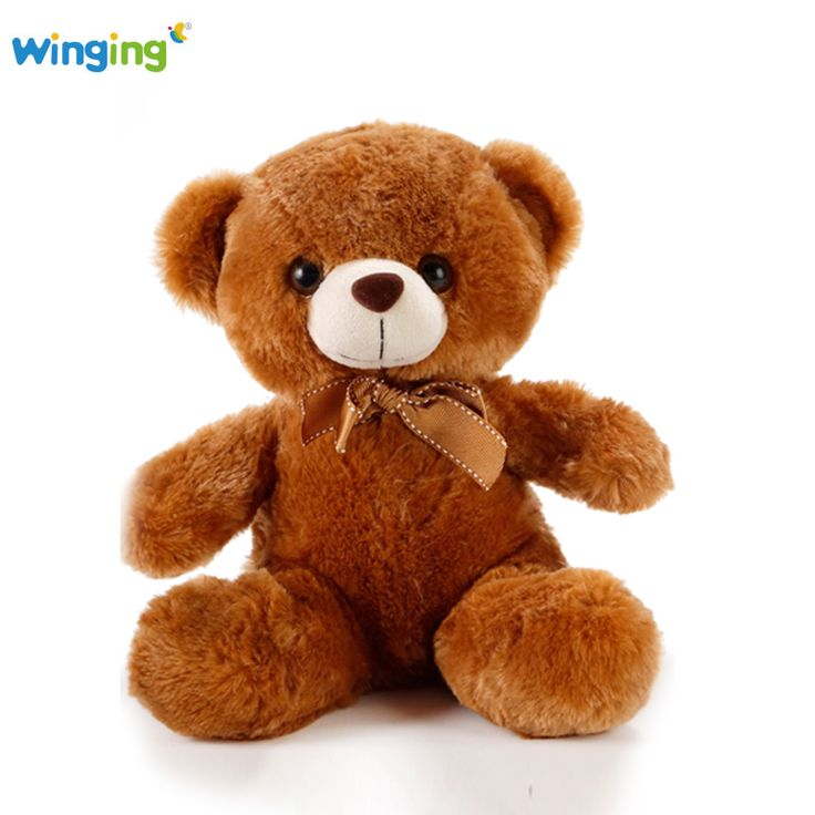 Aliexpress.com : Buy New Fresh Teddy Bears Plush Toy 27cm Teddy Plush Toy Stuffed Animals Bear Doll with Bownot Wedding Gift Children Bear Soft Toys from Reliable doll head for sale suppliers on mamamiya_land