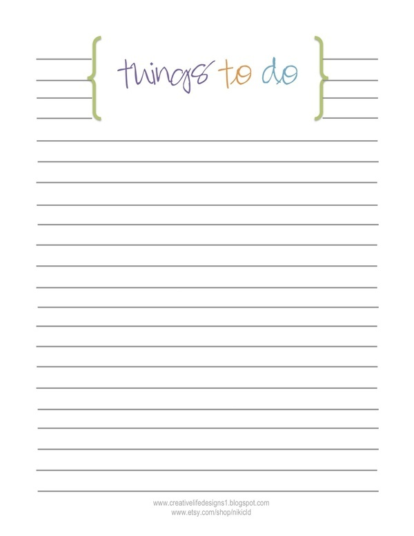 Best Printable To Do List Images On   Planner Ideas