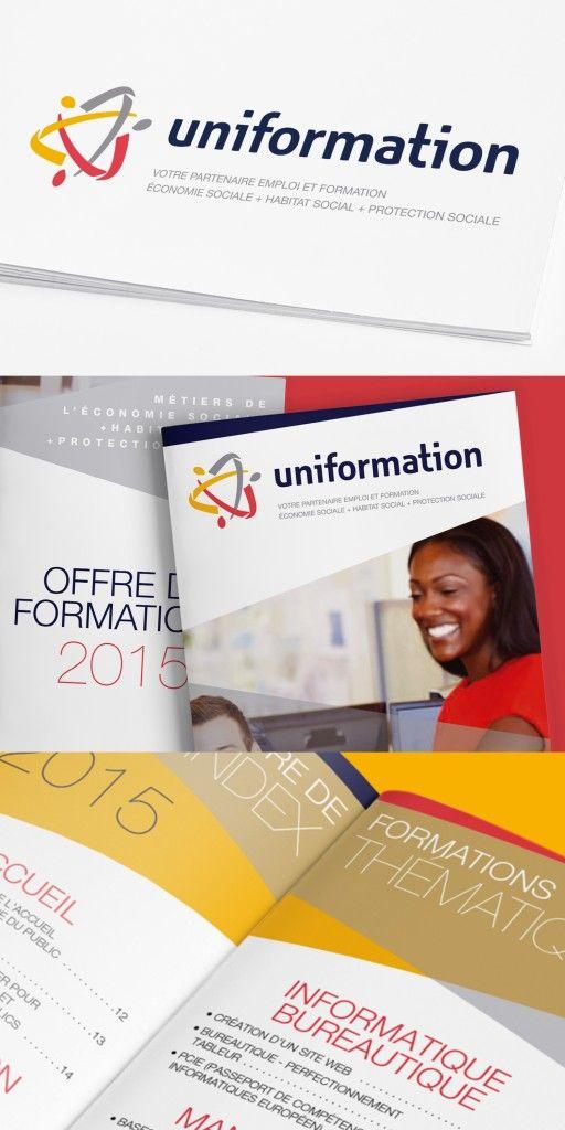 Logo pour Uniformation, l'OPCA de l'économie sociale, de l'habitat social et de la protection sociale